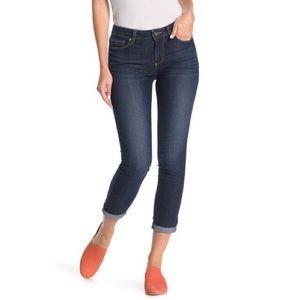 Paige Denim Kylie Cuffed Cropped Skinny Jeans